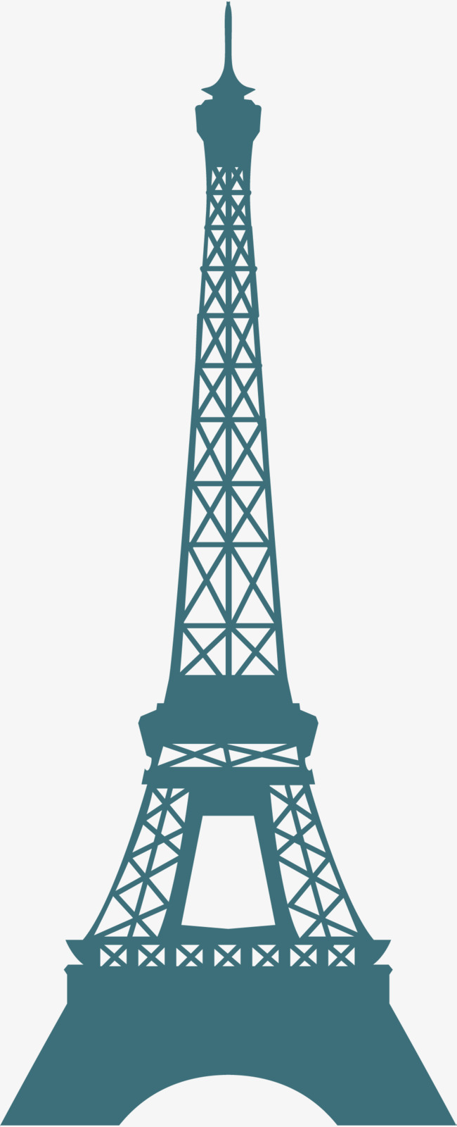 650x1600 Launching Tower, Eiffel Tower, Silhouette, Eiffel Tower Png And