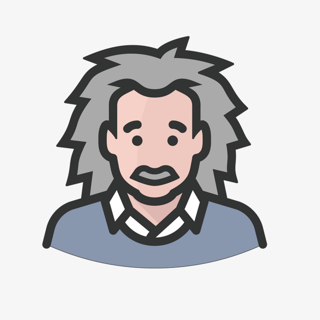 650x651 Gray Einstein, Gray, Scientist, Cartoon Png And Vector For Free