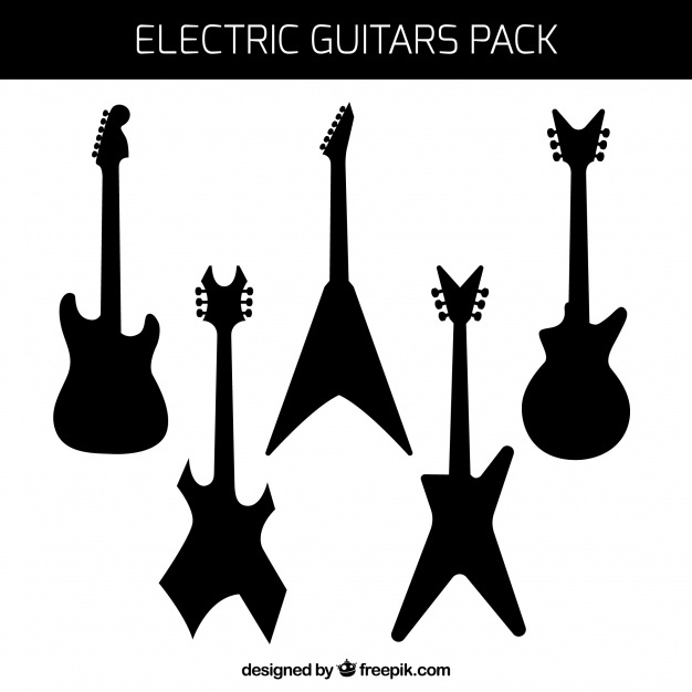 Electric Guitar Vector At Getdrawings Com Free For Personal Use