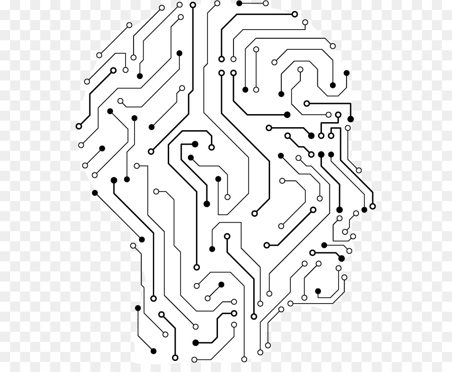 900x740 Electronic Engineering Human Head Brain Illustration
