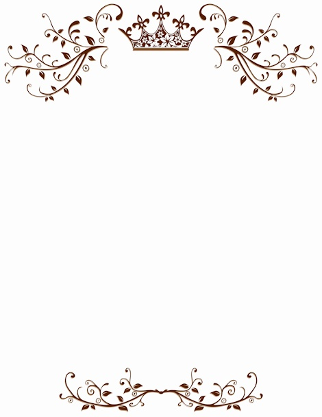 470x608 Elegant Border Background Lovely Vintage Background With Elegant