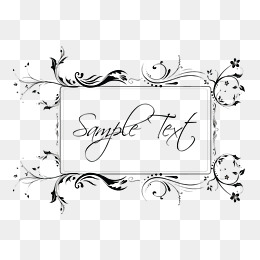260x260 Elegant Borders Png, Vectors, Psd, And Clipart For Free Download