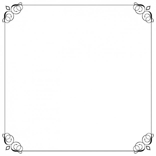 626x626 Elegant Decorative Border Line Vector Free Download