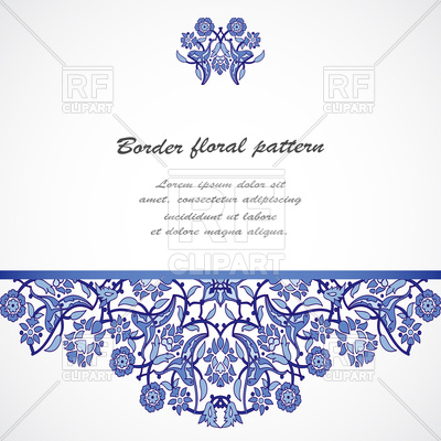 400x400 Arabesque Vintage Elegant Border Vector Image Vector Artwork Of