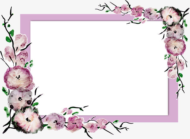 650x476 Purple Elegant Border, Border Vector, Letter Border, Purple Png