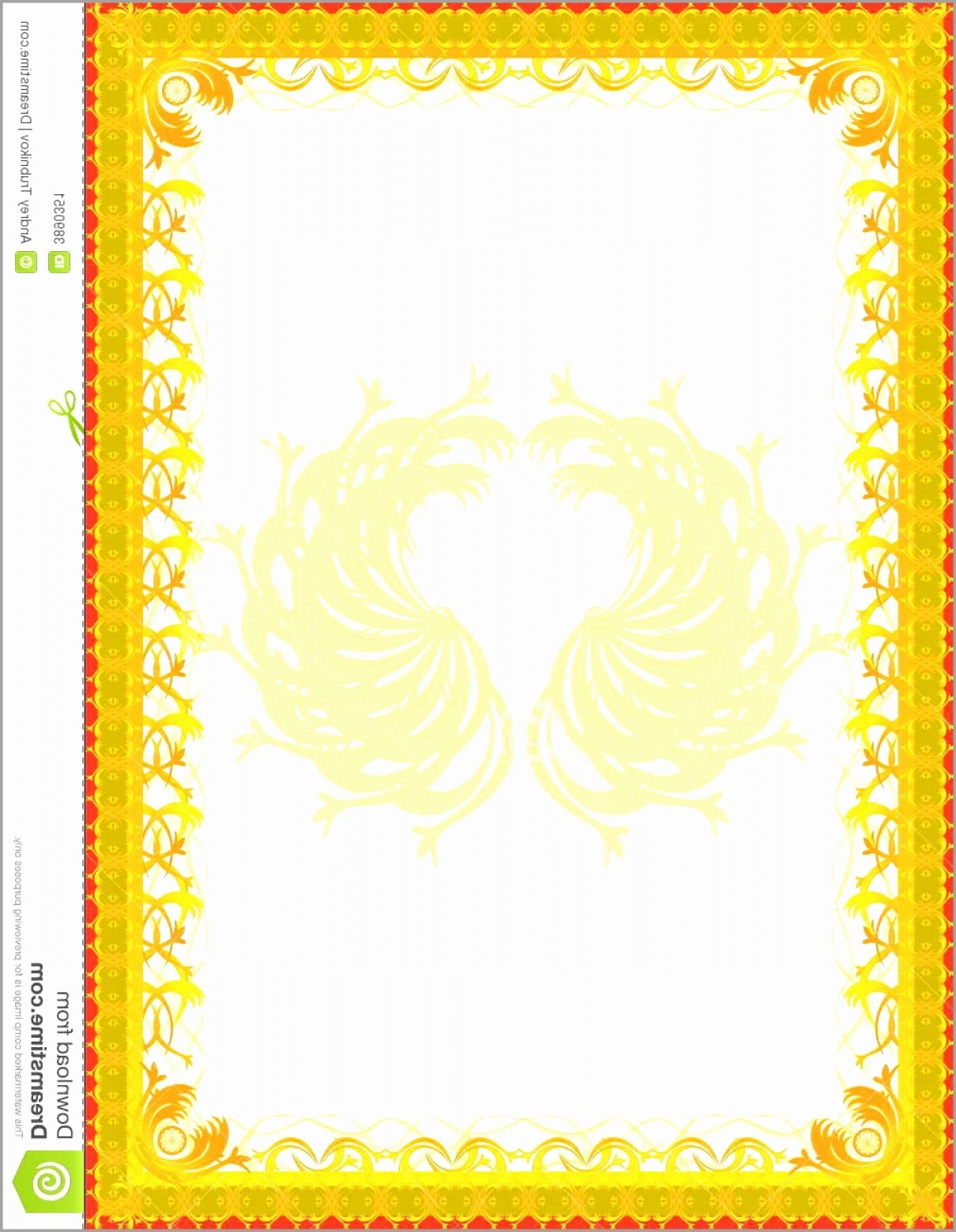 1210x1560 Simple Frame Border Design. Elegant Simple Border Vector Design