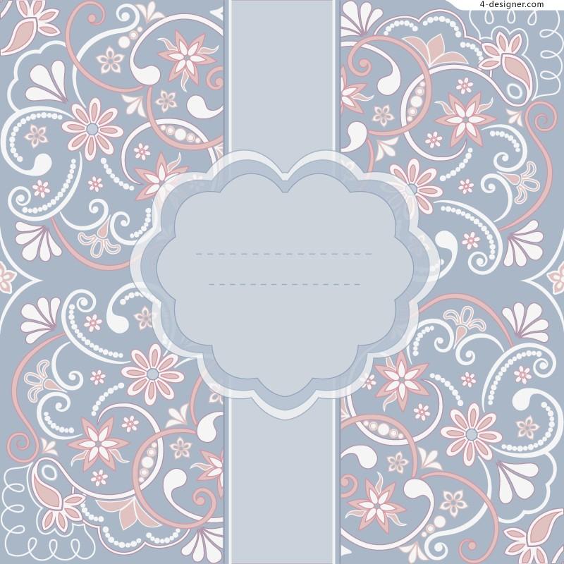800x800 4 Designer Elegant Text Background Pattern Vector Material