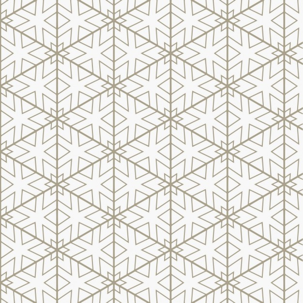 626x626 Elegant Pattern With Geometric Lines Vector Free Download