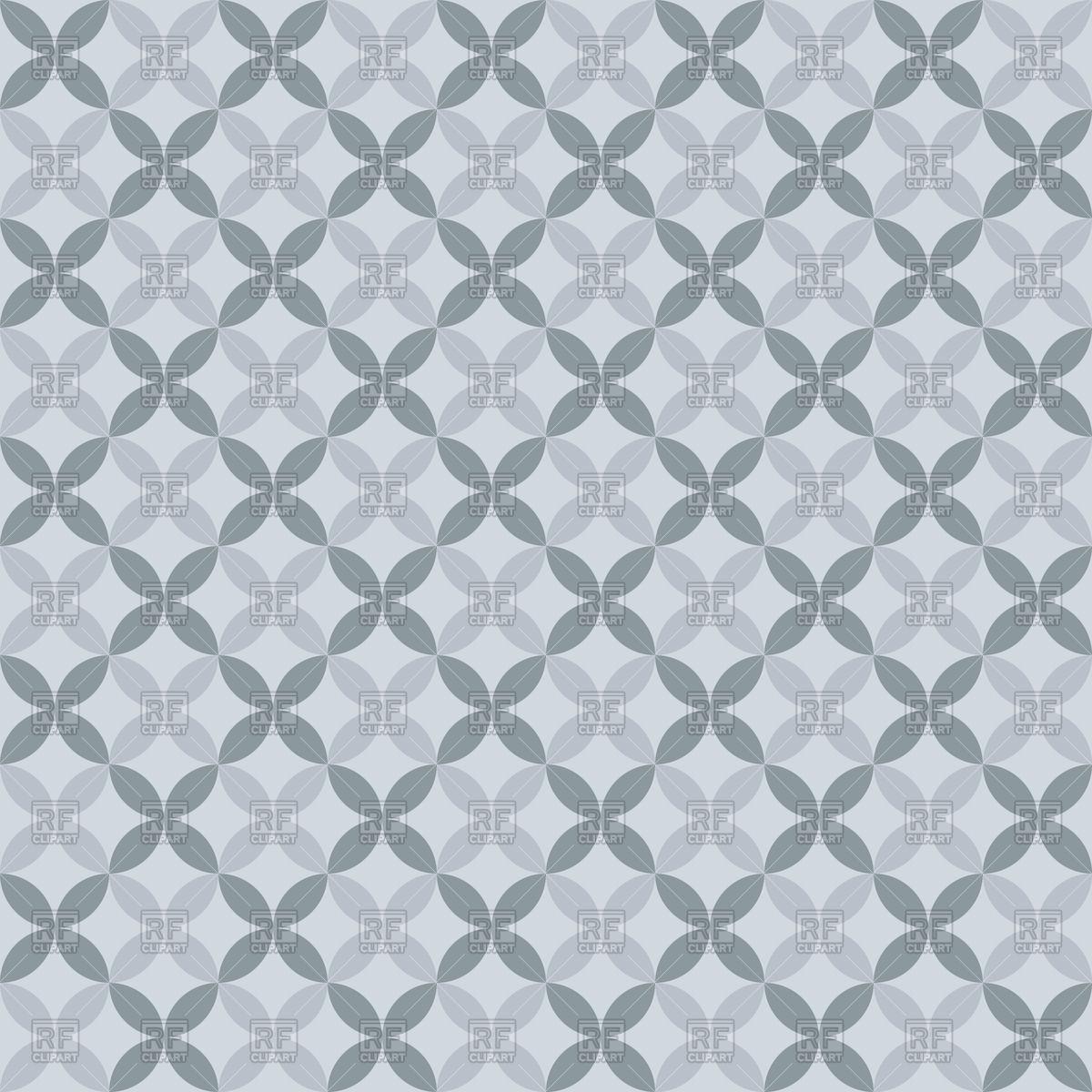 1200x1200 Grey Elegant Seamless Floral Pattern Vector Image Vector Artwork