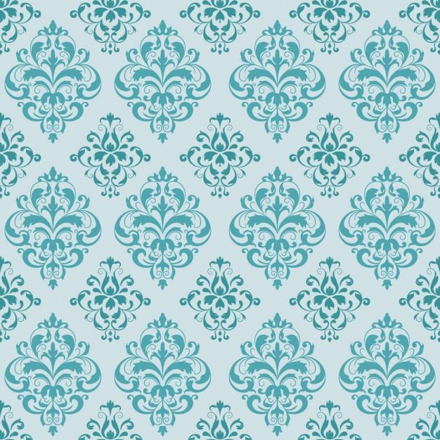 626x626 Turquoise Elegant Pattern Vector Free Download