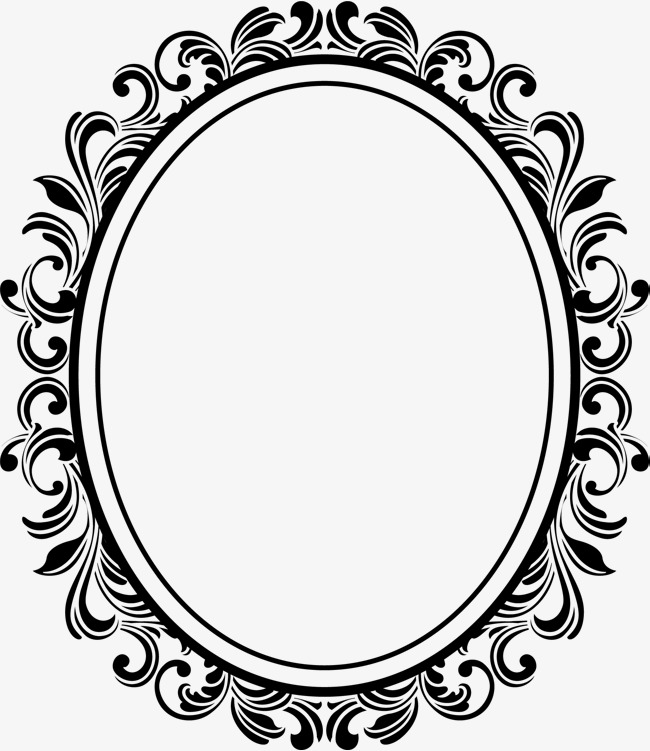 650x751 Oval Frame, Ellipse, Photo Frame, European Photo Frame Png And
