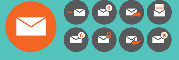 600x203 Email Icon Vector Free Vector Download (23,314 Free Vector) For