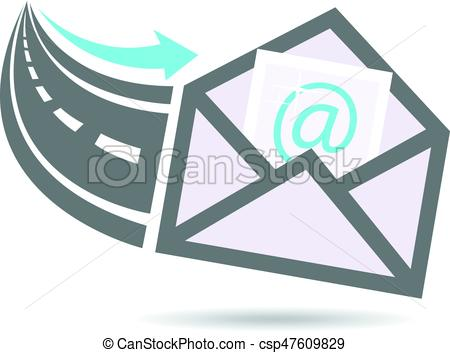 450x353 Email In From The Internet Highway Logo.