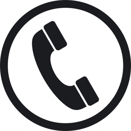 425x425 Telephone Email Logo Vector