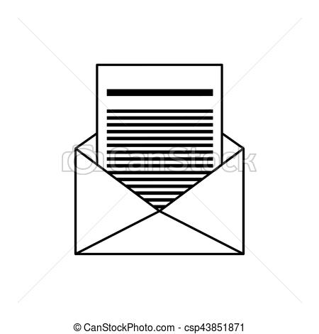 450x470 Mail Or Email Symbol Icon Vector Illustration Graphic Design