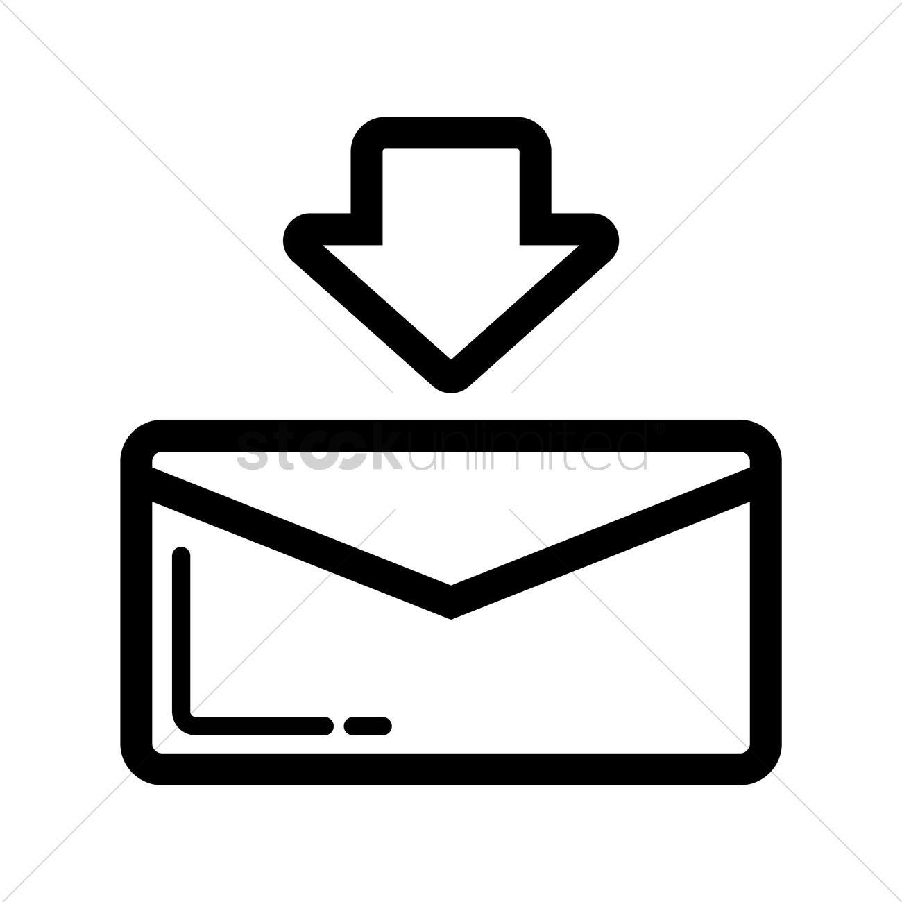 1300x1300 Download Email Symbol Vector Image