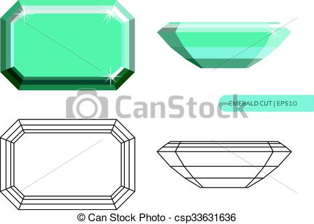 450x321 Emerald Clipart Vector