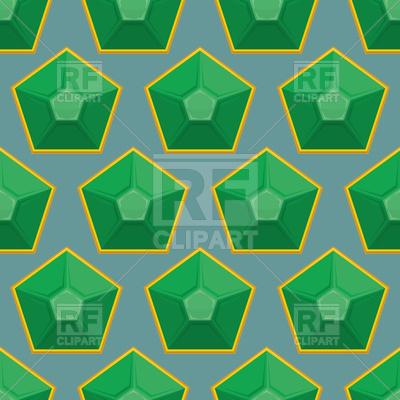 400x400 Emerald Seamless Pattern Vector Image Vector Artwork Of
