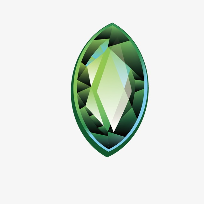 650x650 Emerald, Oval, Hand Painted Png And Vector For Free Download