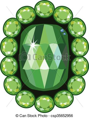 353x470 Emerald Clipart Vector Free Collection Download And Share