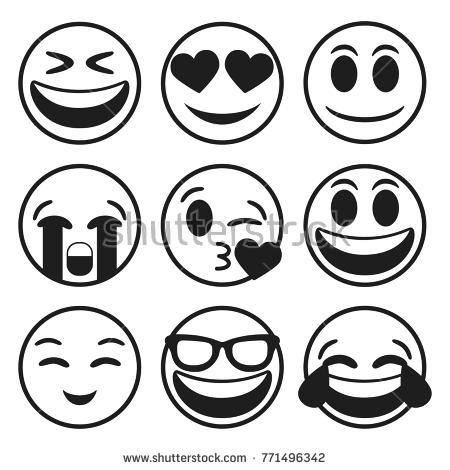 450x470 Emojicons Vector