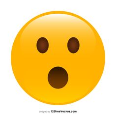 236x236 Frowning Face With Open Mouth Emoji Vector Free Free Vectors