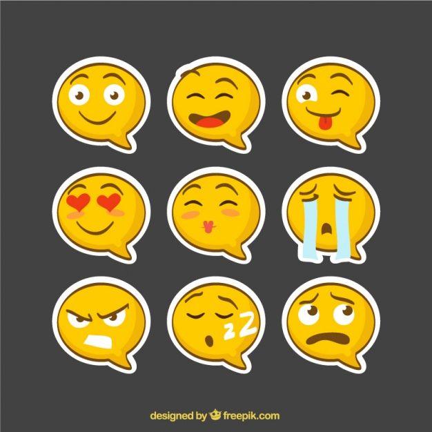 626x626 9 Emoji Vector Free Download