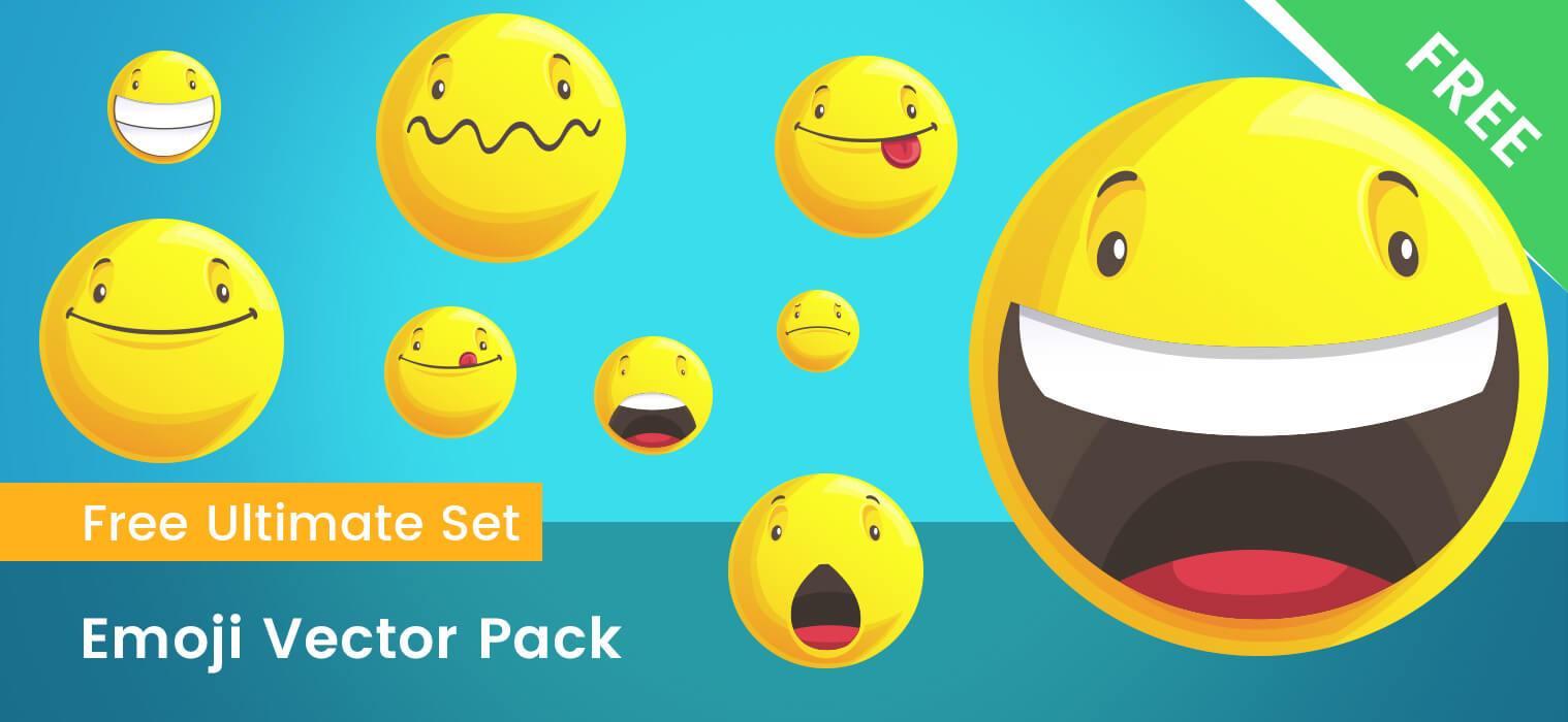 1518x700 Emoji Vector Pack