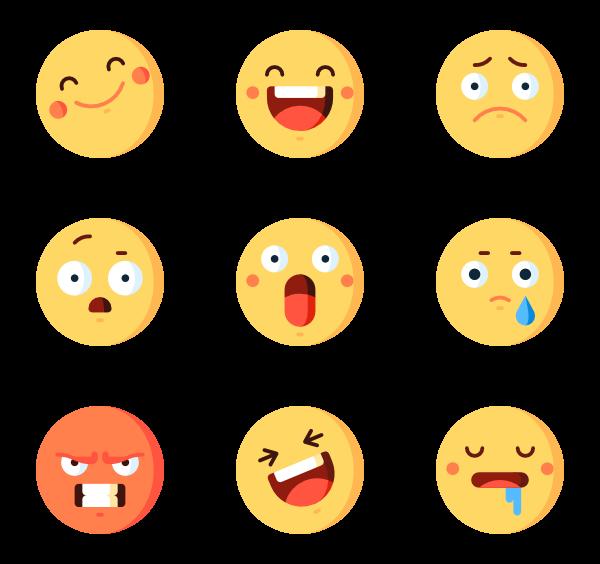 600x564 Emoticon Icons
