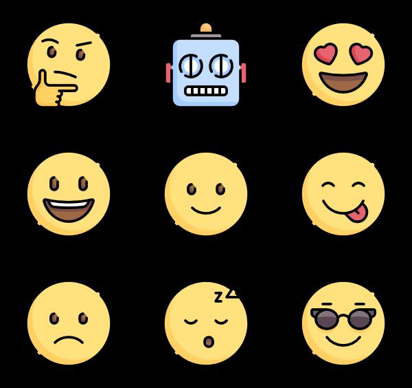 600x564 104 Emoji Icon Packs