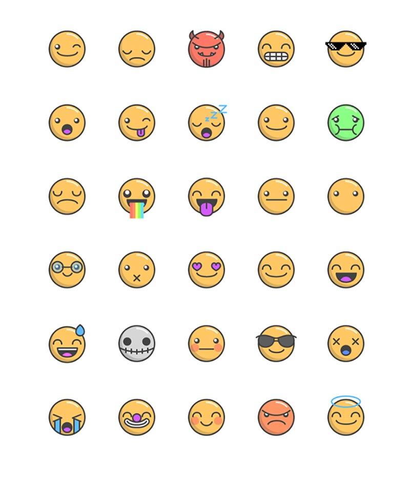 800x935 Best Free Emoji Icon Sets To Download Graphiceat