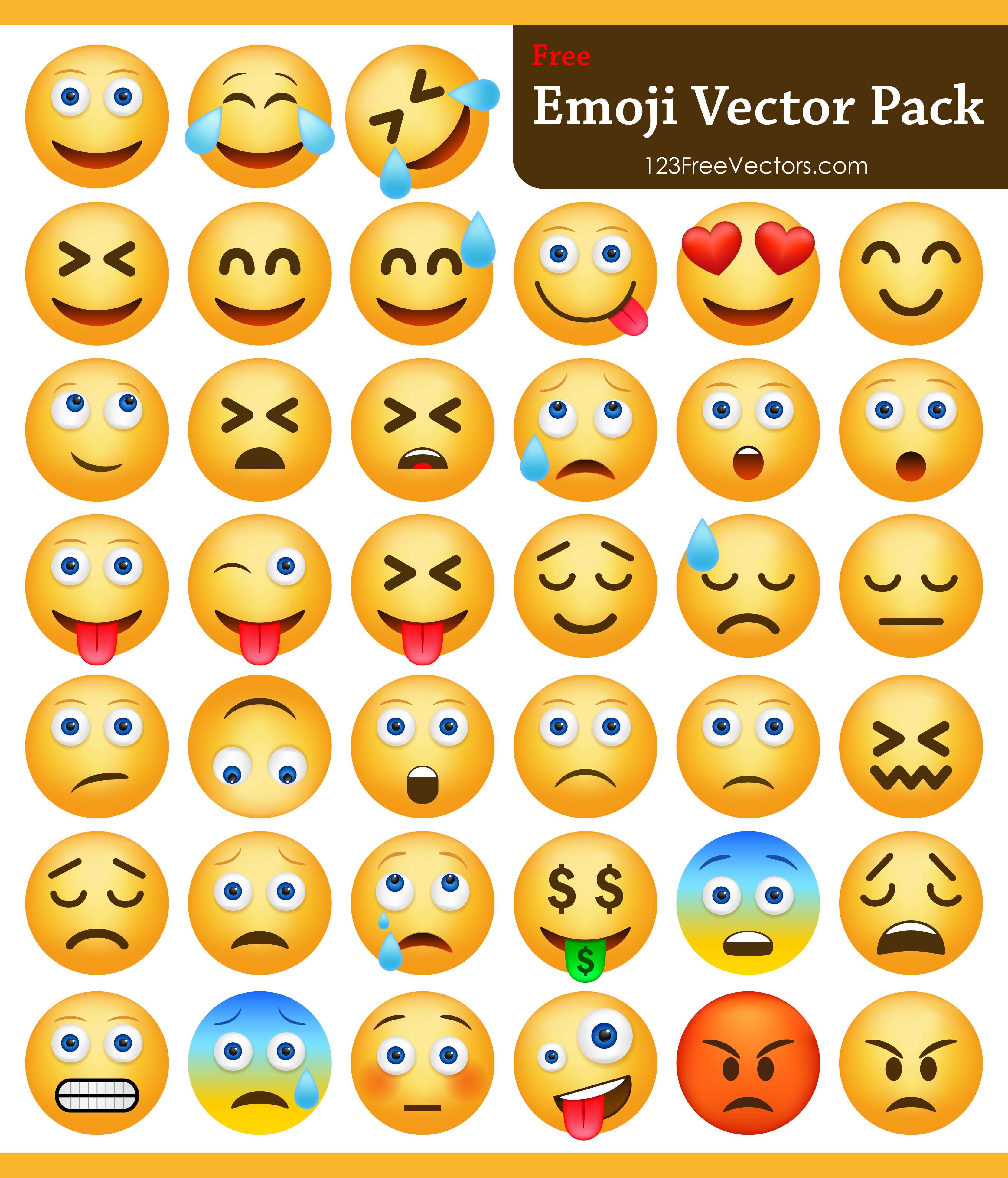 3333x3896 Download Emoji Pack 123freevectors