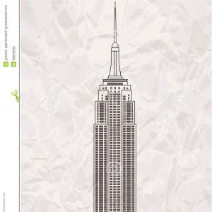 300x300 New York City View Empire State Building Vector Arenawp