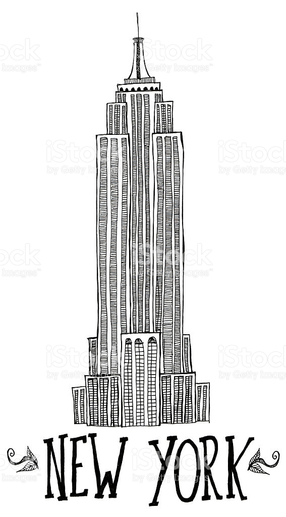 567x1024 New York Empire State Building Clipart Amp New York Empire State