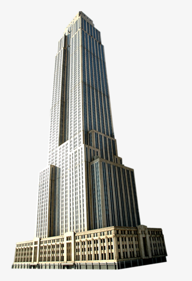 650x950 Skyline Clipart Empire State Building