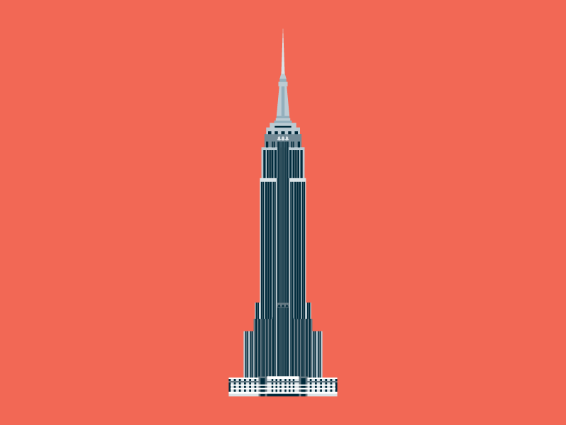 800x600 The Empire State Building By Little Histories