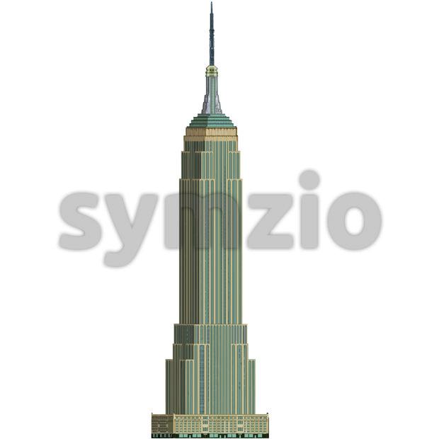 620x620 Empire State 001 Vector Illustration 121198