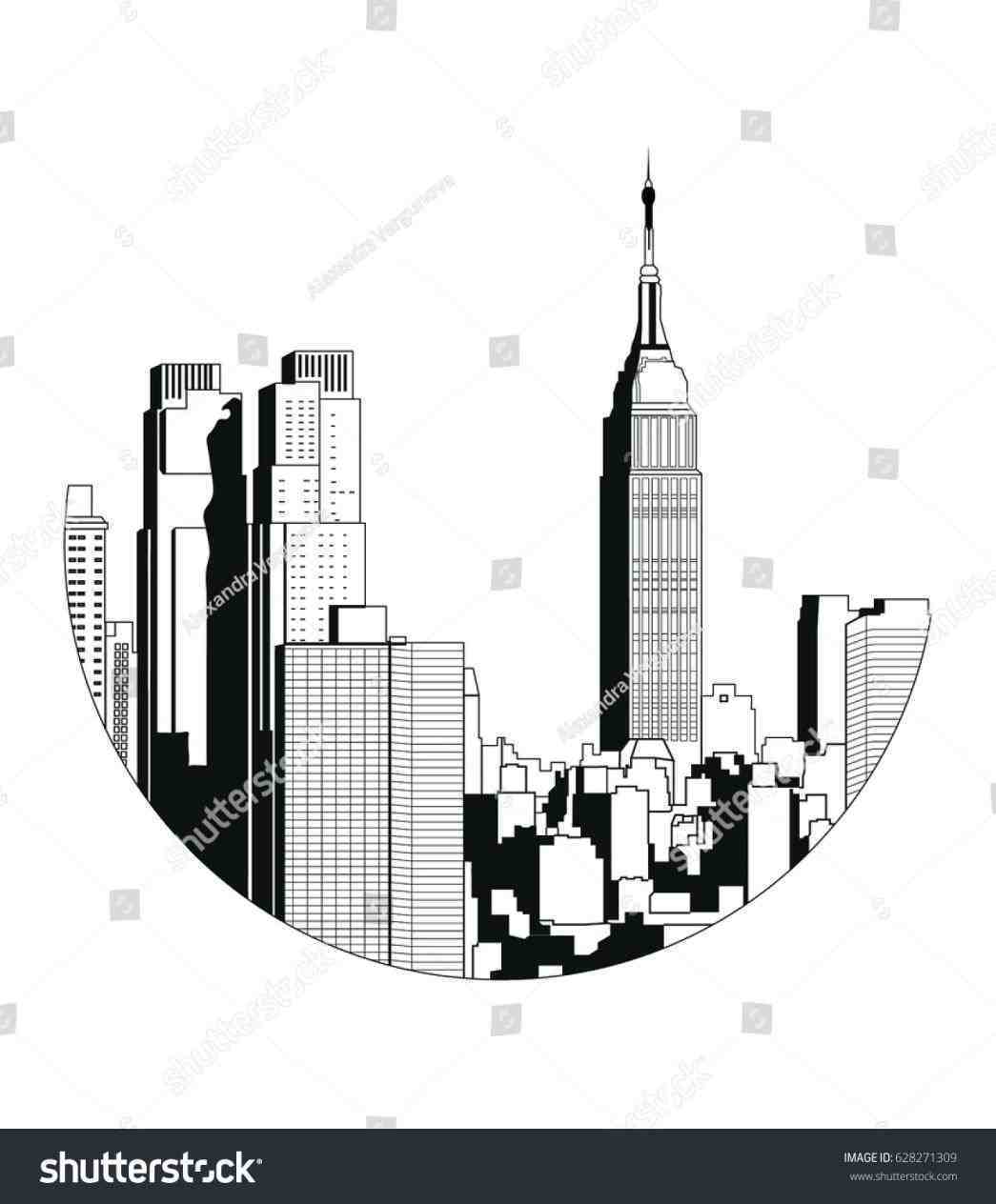 1045x1264 Results For New York Empire State Building Vector