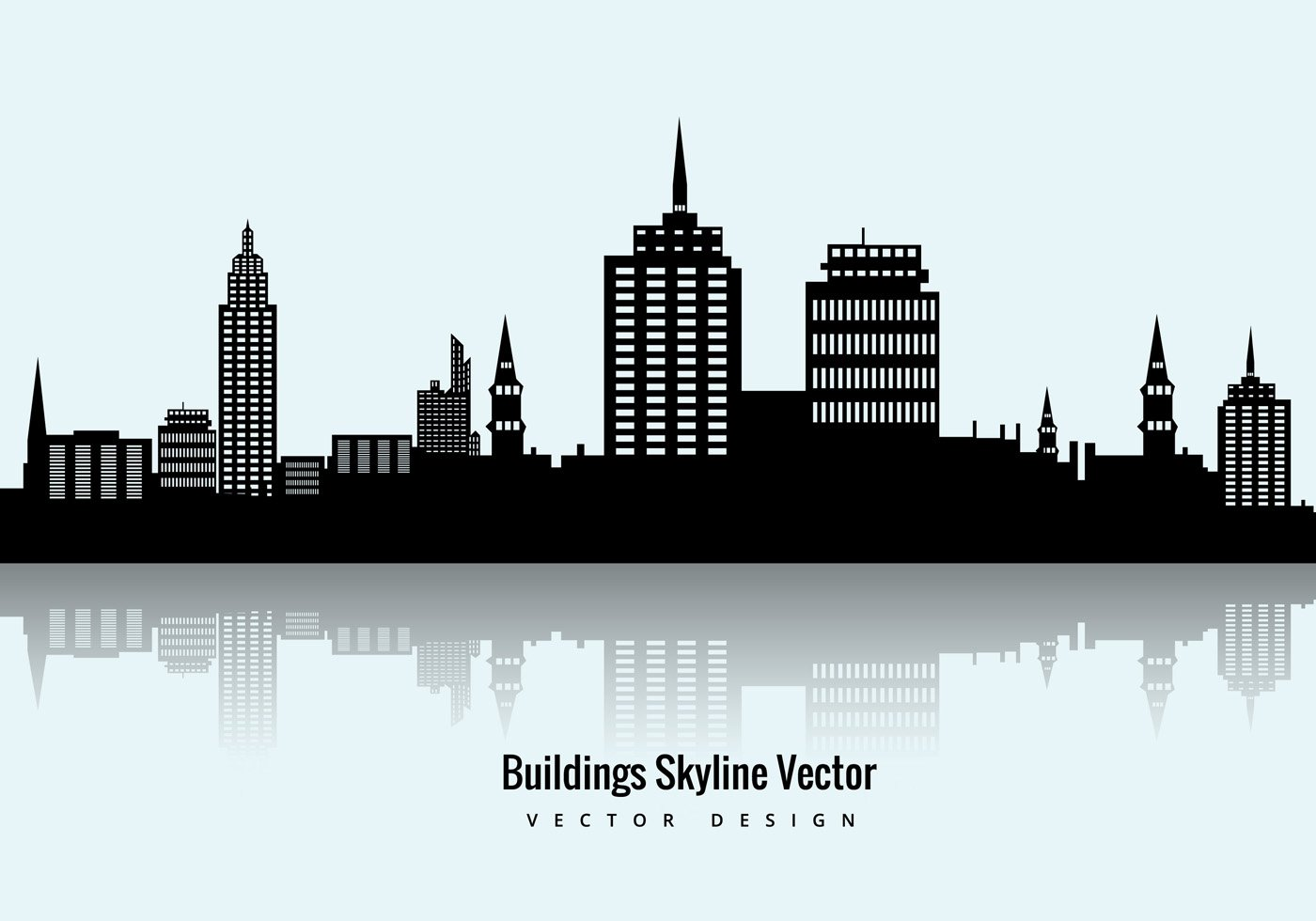 1400x980 Skyline Clipart Empire State Building 27