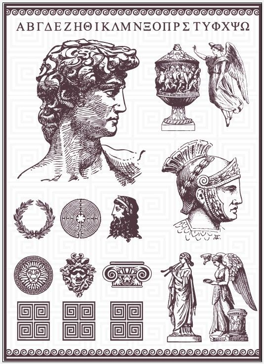 534x737 The Roman Empire Characters Logo Vector Graphics Material Related