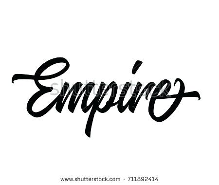 450x380 Empire Design Script Text City And Town Name In Word Art Vector