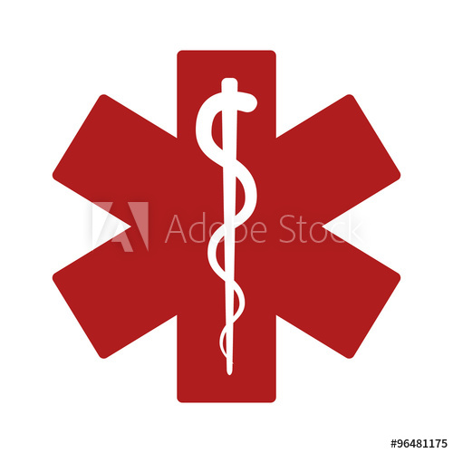 500x500 Medical Alert Emergency Ems Flat Icon For Apps And Websites