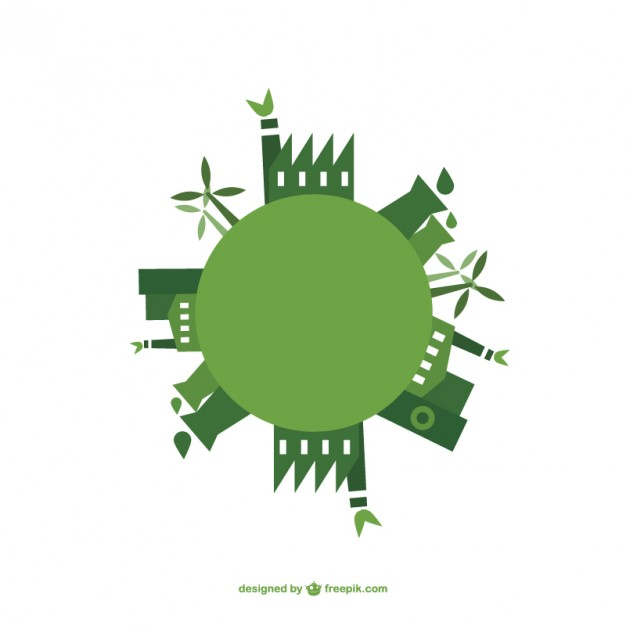 626x626 Green Energy Vector Earth Day Vector Free Vector Download In .ai