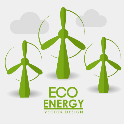426x426 Eco Energy Vector Design Template 07 Free Download