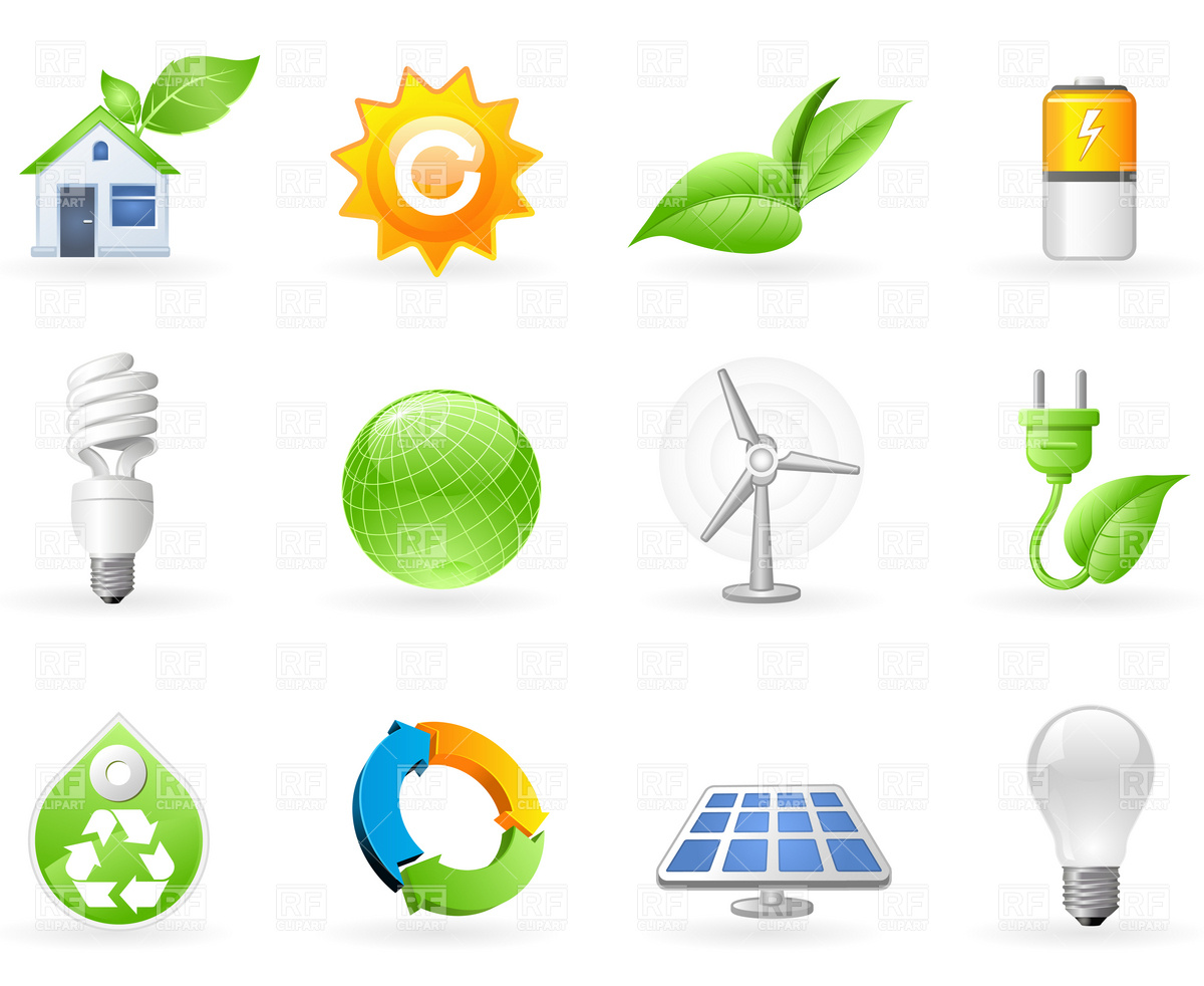 1200x982 Ecology And Green Energy Icon Set Vector Image Vector Artwork Of