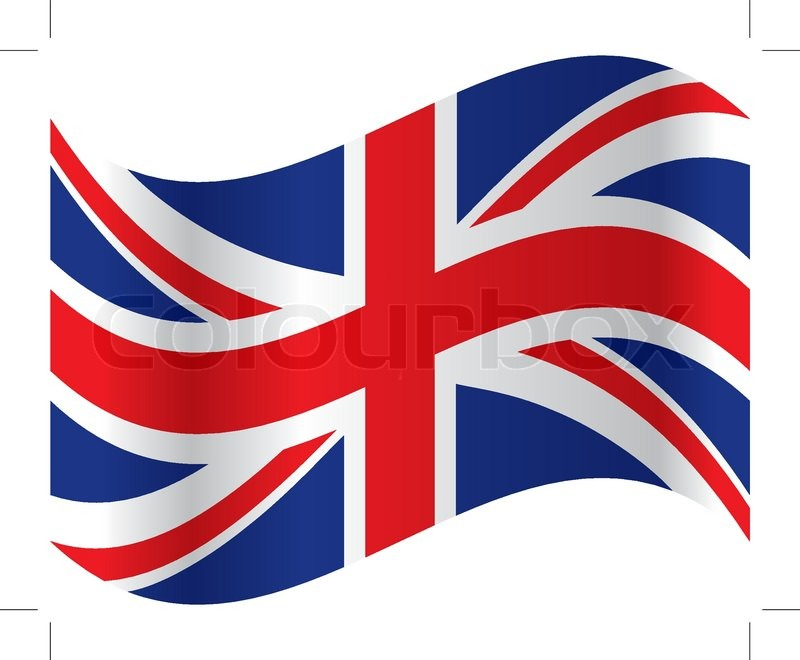800x660 Official Flag Of Great Britain Vector Stock Vector Colourbox