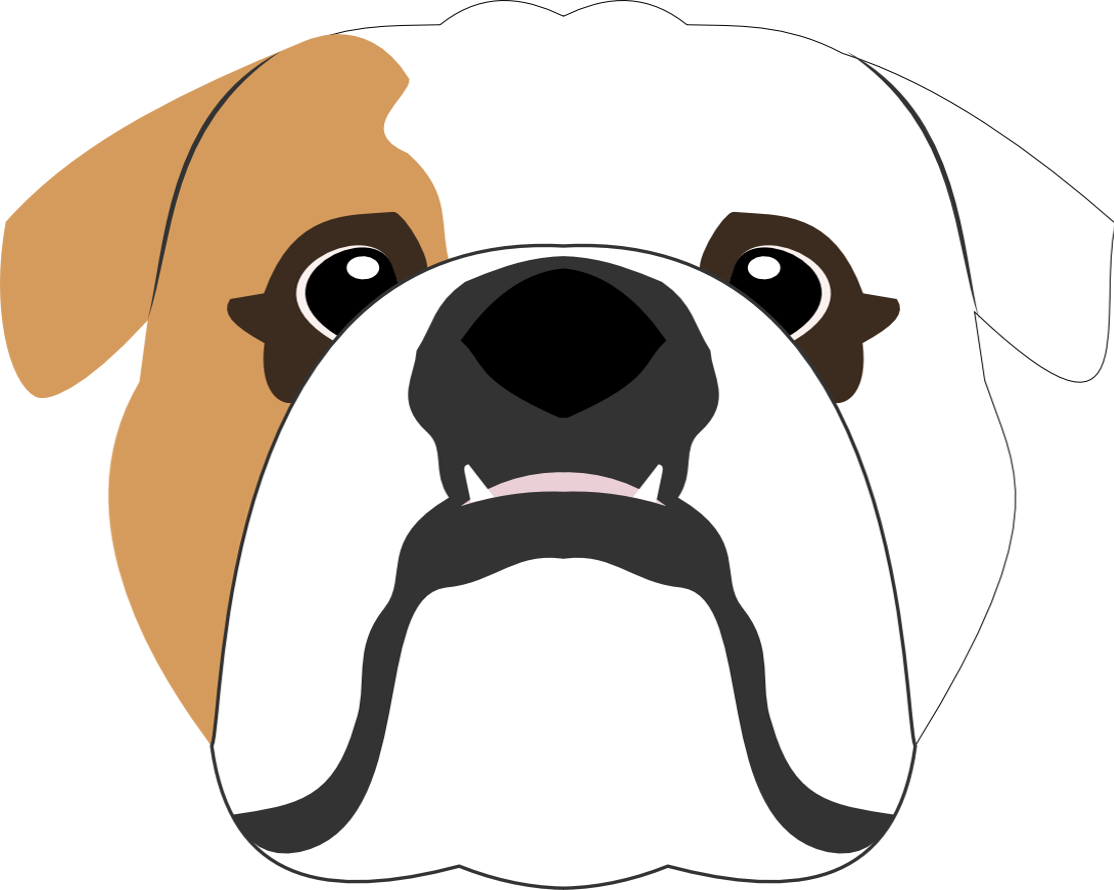 1114x890 English Bulldog Vector Design Dogart English Bulldogs