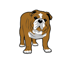 256x256 Collection Of Free Bulldog Vector Cute. Download On Ubisafe