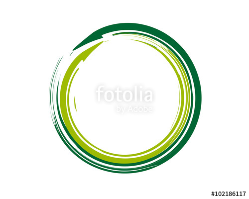 500x400 Enso Zen Symbol Green Stock Image And Royalty Free Vector Files