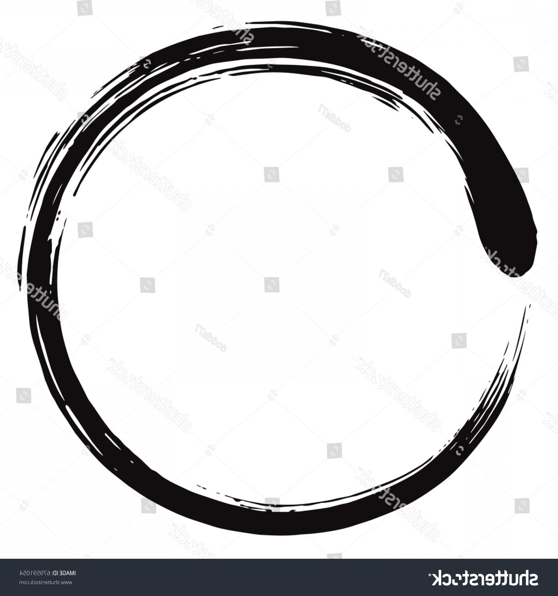 Enso Vector At Free For Personal Use Circuit Board Tshirts Spreadshirt 1800x1920 Minimalistic Zen Circle Arenawp